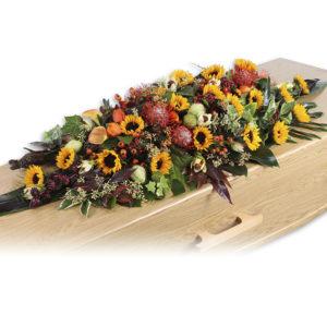 couvre cercueil colore